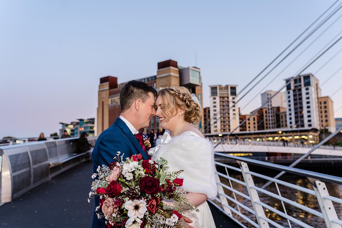 newcastle city wedding photographer